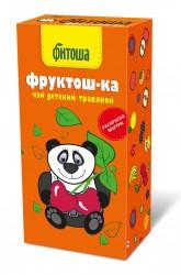 Чай, ф/пак. 1.5 г №20 Детский травяной чай Фитоша №2 Фруктош-ка