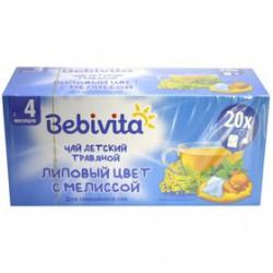 Чай, Бебивита 1 г №20 липовый цвет с мелиссой с 4 мес.