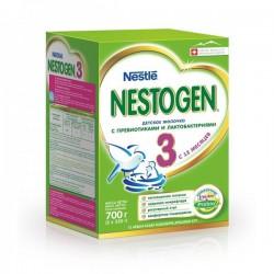 Смесь молочная, Нестожен 700 г 3 молочный напиток с пребиотиками с 12 мес