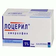 Лоцерил, лак д/ногтей 5% 2.5 мл №1 флаконы
