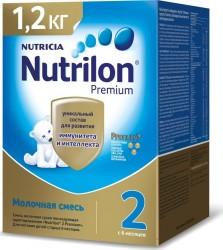 Смесь молочная, Нутрилон 1200 г 2 Премиум с 6 месяцев